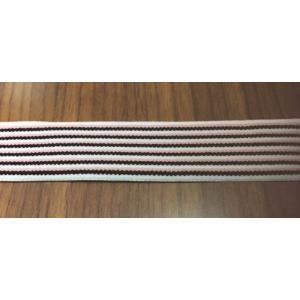 20ミリ幅デザインカラー織ゴム ストライプ柄(在庫限り・安価)|gomuhimoya