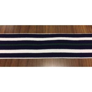38ミリ幅デザインカラー織ゴム ストライプ柄(在庫限り・安価)|gomuhimoya