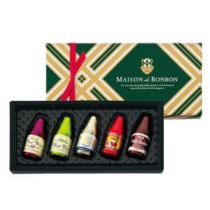 402 ワイン&フルーツリカーボトルズ(5種アソート) 5個 ゴンチャロフ メゾンドボンボン -バレンタインチョコレート2019-|goncharoff