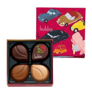 659 クッカ I 4個 ゴンチャロフ クッカ -バレンタインチョコレート2019- 【数量限定】【バレンタインデー限定】|goncharoff