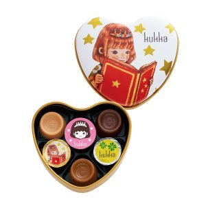 651 クッカ A 6個 ゴンチャロフ クッカ -バレンタインチョコレート2019- 【数量限定】【バレンタインデー限定】|goncharoff