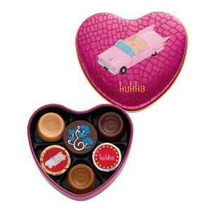 654 クッカ D 6個 ゴンチャロフ クッカ -バレンタインチョコレート2019- 【数量限定】【バレンタインデー限定】|goncharoff