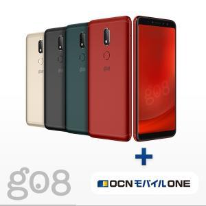 gooのスマホ g08(グーマルハチ) 本体 + OCN モバイル ONEセット 送料無料