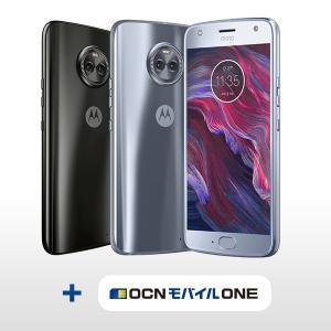 SIMフリースマホ Moto X4 + 選べるOCN モバイル ONEセット 【送料無料】|goo-simseller