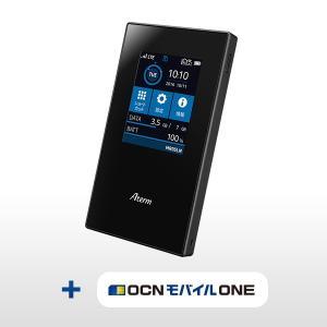 SIMフリーモバイルルータ Aterm MR05LN 3B + OCNモバイルONE【送料無料】|goo-simseller