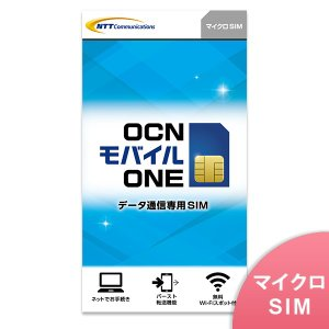 ★ポイント15倍★【マイクロSIM】OCN モバイル ONE【NTTコミュニケーションズ】【メール便送料無料】|goo-simseller