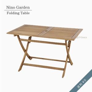 ガーデンテーブル 屋外 机 庭 テラス バルコニー 折りたたみテーブル コンパクト おしゃれ シンプル 折りたたみ ダイニングテーブル 木製|goocafurniture