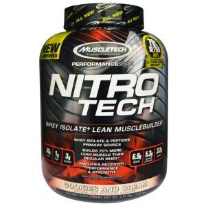 Nitro-Tech ニトロテック クッキー&クリーム味 1.8kg 海外直送品