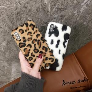 iPhoneX iPhone8 iPhone7 iPhone6s Plus フェイクレザー ヒョウ柄 牛柄 ザー おしゃれ ケース かわいい スマホケース スマートフォンカバー|good-clothes