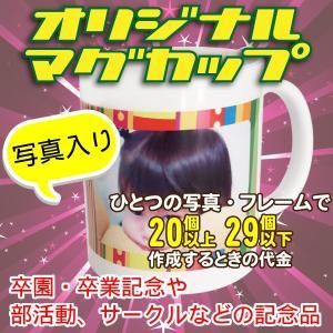 オリジナルマグカップ【20〜29個】フレームに写真を入れるコース|good-gazo