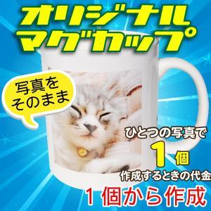 オリジナルマグカップ【1個】写真をそのままプリントコース|good-gazo