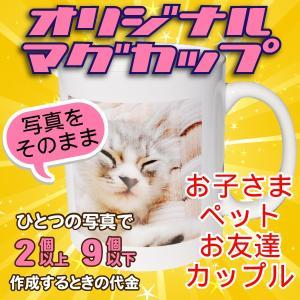 オリジナルマグカップ【2〜9個】写真をそのままプリントコース|good-gazo