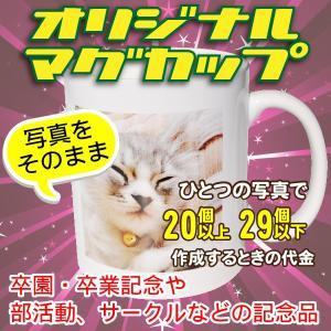 オリジナルマグカップ【20〜29個】写真をそのままプリントコース|good-gazo