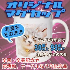 オリジナルマグカップ【30〜99個】写真をそのままプリントコース