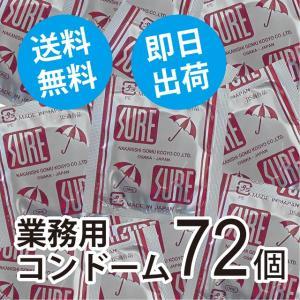 コンドーム 送料無料 業務用 スキン うす型 シュアー 72個|good-life-style
