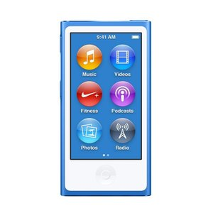 【新品】Apple iPod nano 16GB 第7世代 モデル ブルー MKN02J/A