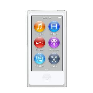 【新品】Apple iPod nano 16GB 第7世代 モデル シルバー MKN22J/A