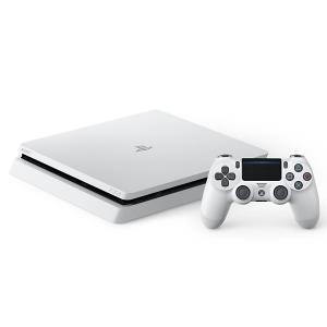 【新品】PlayStation 4 グレイシャー・ホワイト 500GB (CUH-2100AB02) good-lifes