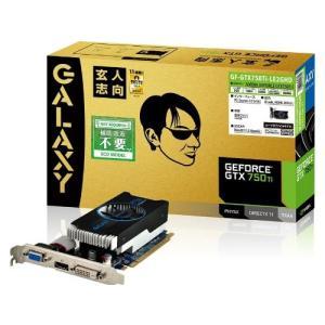 玄人志向 グラフィックボード NVIDIA GeForce GTX750Ti PCI-Ex16 LowProfile 2GB 補助電源なし GF-GTX750TI-LE2GHD|good-lifes