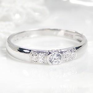 ☆上品で大人感漂うプラチナ900のアームに、ダイヤモンド7石をセットしたデザインリング♪ プラチナの...