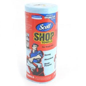 お試し1本。 ■スコット【Scott】カーショップタオル 吸収性に優れ、また頑丈で破れにくいペーパー...