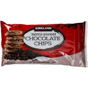 カークランドシグネチャー チョコレートチップス 2.04KG/4.5LB チョコチップ