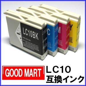 【単品】 LC10 LC10-4PK ブラザーインクカートリッジ互換 brotherインク LC10