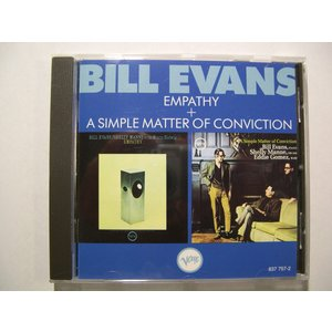 Bill Evans / Empathy + A Simple Matter of Conviction // CD