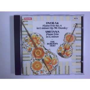 Dvorak, Smetana / Piano Trios / The Borodin Trio // CD