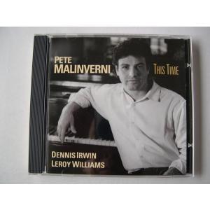 Pete Malinverni / This Time // CD