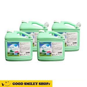 消臭 除菌 o-157 食中毒 安定化二酸化塩素製剤 セントフレッシュ 4L×4本+500ml空ボトル8本+替え用ノズル4本サービス|good-smiley