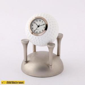 【国内送料無料】ミニチュアクロック Miniature Clock Collection ゴルフボール 時計 おしゃれ ゴルフ|good-smiley