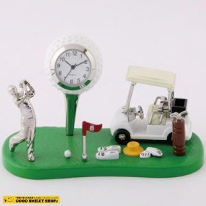 【国内送料無料】ミニチュアクロック Miniature Clock Collection ゴルフ場 時計 おしゃれ ゴルフ|good-smiley