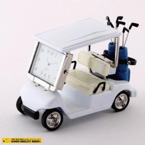 【国内送料無料】ミニチュアクロック Miniature Clock Collection ゴルフカート 時計 おしゃれ ゴルフ|good-smiley