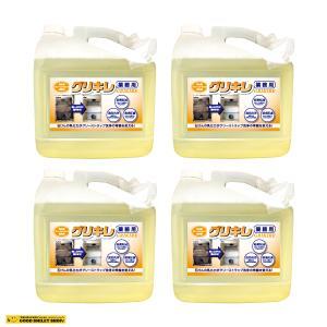 洗浄剤 グリーストラップの清掃に 厄介な汚れも一撃 送料無料 グリキレ 5kg4本セットで定価の15%OFF|good-smiley