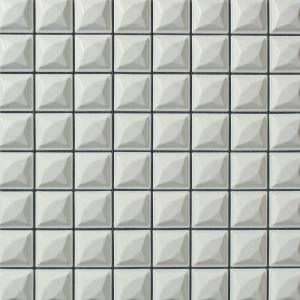 磁器質モザイクタイル 内装壁用 バンプAタイプ 【送料無料】|good-tile
