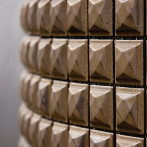 磁器質モザイクタイル 内装壁用 バンプBタイプ 【送料無料】|good-tile