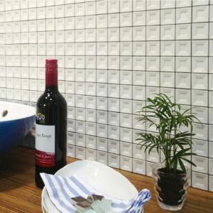 磁器質モザイクタイル 内装壁用 デントAタイプ【送料無料】|good-tile