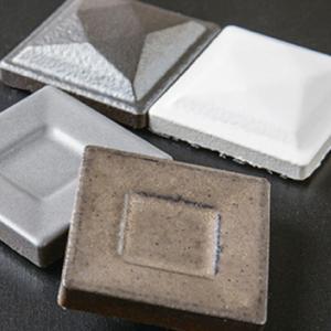 磁器質モザイクタイル 内装壁用 デントBタイプ(ラスター加工)【送料無料】|good-tile