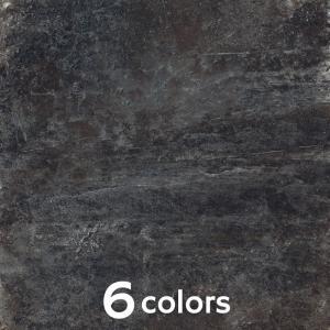 タイル 600角 内装壁床・外装壁用 天然石調 アルデシアスレート ラパート(半磨き) 送料無料|good-tile