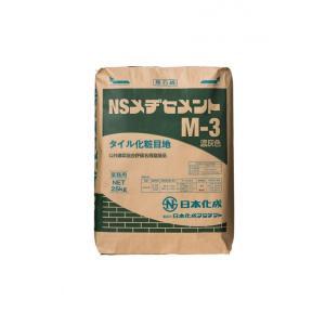 タイル用化粧目地材 NS メヂセメント (M-3濃灰)|good-tile