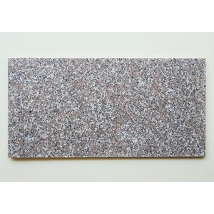 天然御影石 タイル(平板) 内装壁床・外装壁用 ローズ (G63536P) 本磨き (4枚入り) 300×600×15【1203-1043】 good-tile
