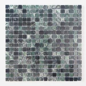 天然大理石モザイク 壁用 グリーン 磨き (305MN011P) good-tile