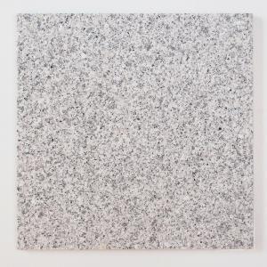 天然御影石 タイル(平板) 内装壁床・外装床用 ホワイト 300×300×12 (G60333J) バーナー|good-tile