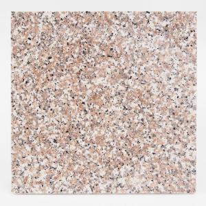 天然御影石 タイル(平板) 内装壁床・外装床用 ローズ300×300×12(G63533P)本磨き|good-tile