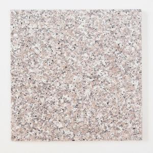 天然御影石 タイル(平板) 内装壁床・外装床用 ローズ 300×300×12 (G63533J) バーナー|good-tile