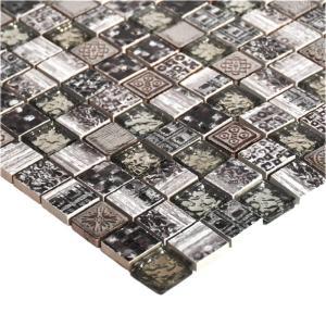 モザイクタイル キッチン・洗面所等 デコラモザイク ライトグレー (SH005)|good-tile