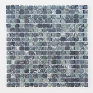 天然大理石モザイク 壁用 グリーン マット (305MN011M) good-tile