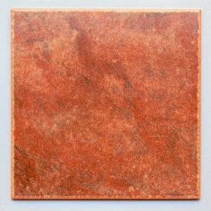 300角タイル 玄関床・屋外用 リベロ レッド(A903)|good-tile