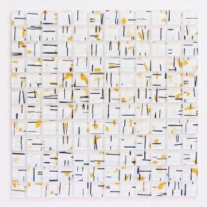 ガラスモザイクタイル 壁用 アートモザイク パステルホワイト (182)|good-tile